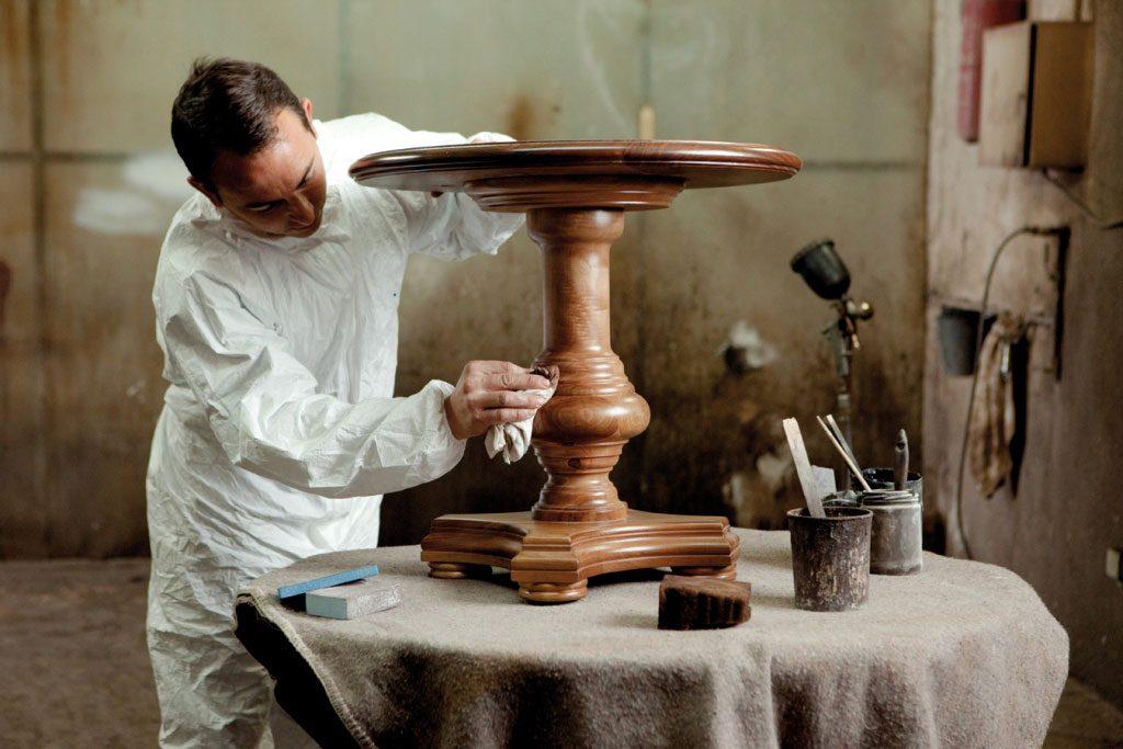 pintado natural muebles clasicos aguirre artesanos
