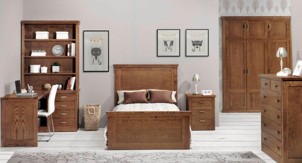 dormitorios juveniles clasicos modelo onix