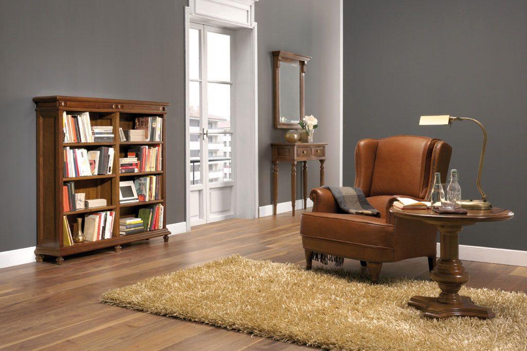 muebles clásicos a medida librerías