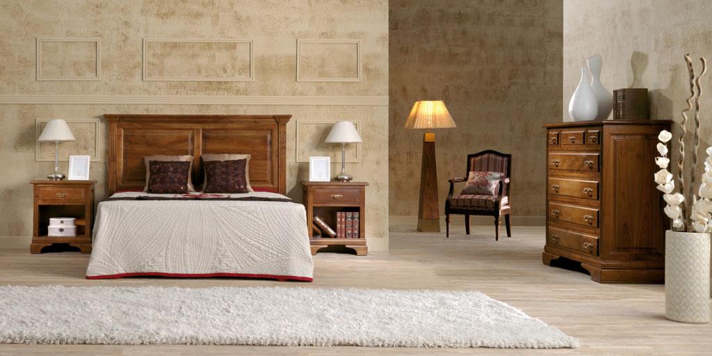 dormitorio clasico a medida modelo ambar